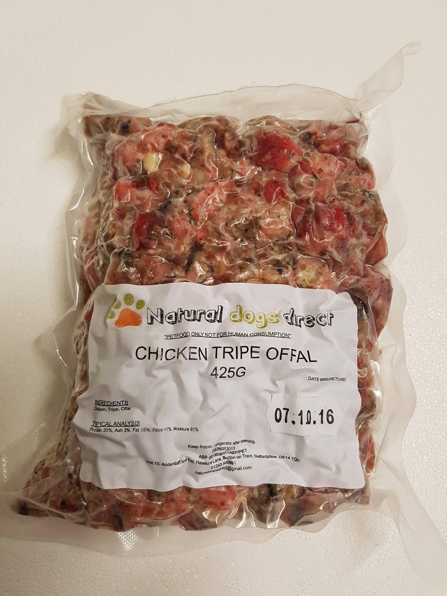Frozen Tripe Dog Food