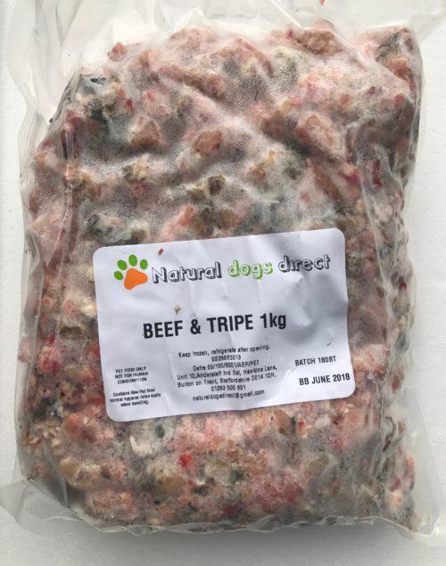 beef & tripe mince