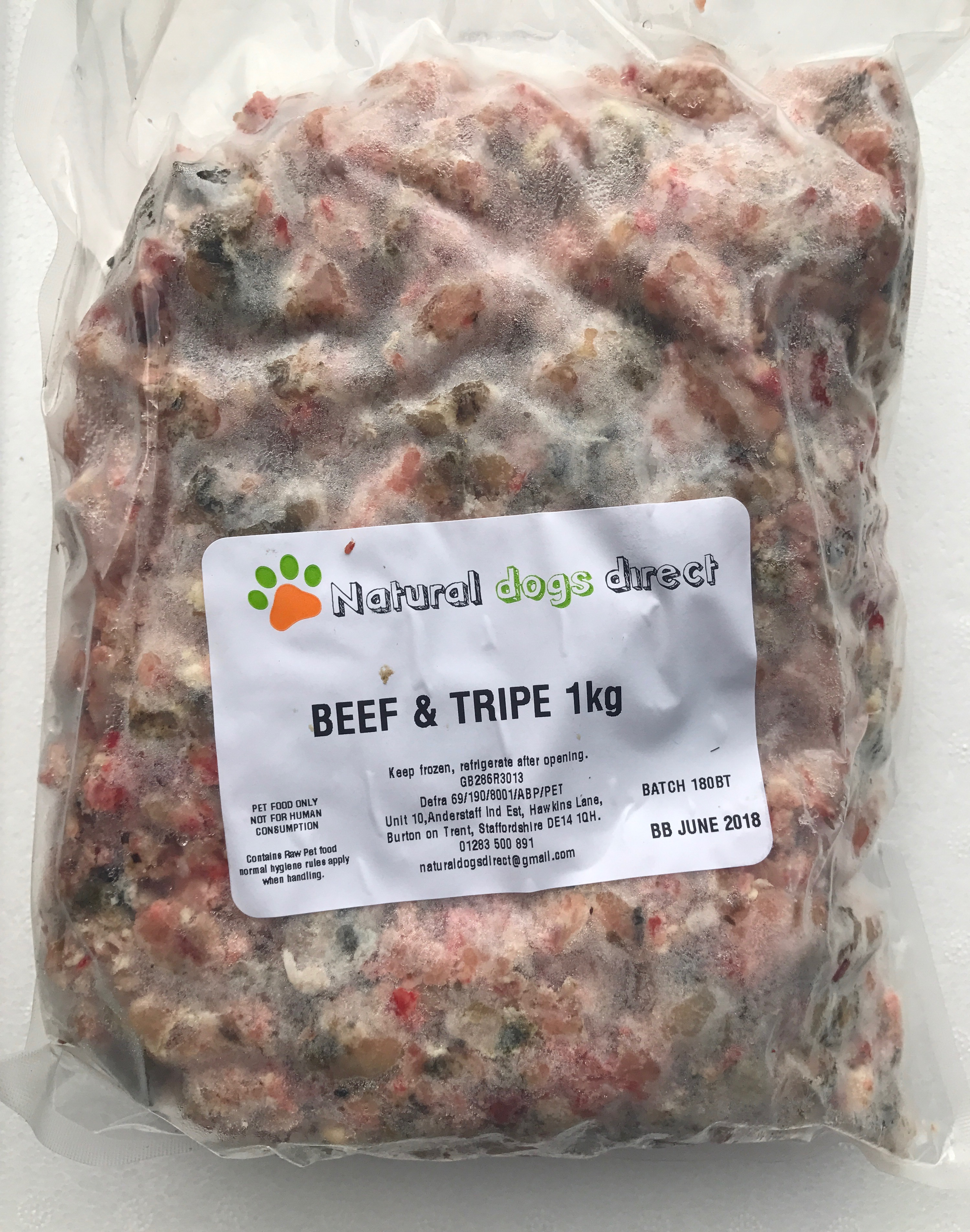 Is Frozen Tripe Good For Dogs