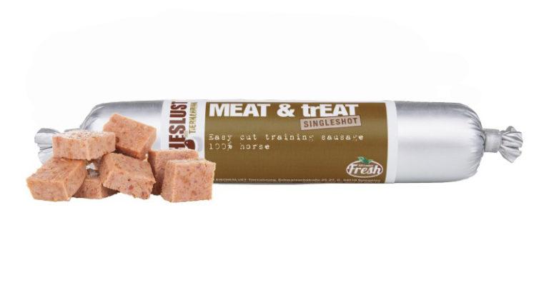 Meatlove - Meat & Treat Single Shot Horse Dog Treat 80g